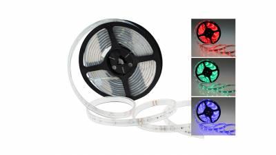LED Streifen RGB 7,2W/m (36W), IP68, 24V