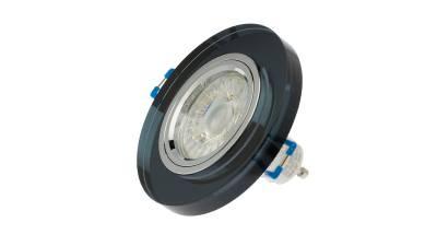 LED Einbauleuchten, max. 50W, klar/transparent