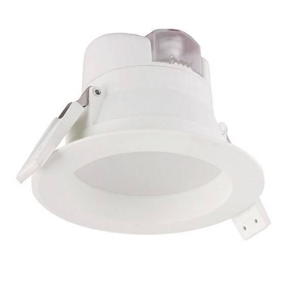 """LED Downlight """"RO0002"""" 8W, weiß, 90mm Bohrloch"""