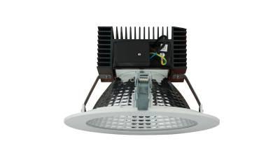 LED Downlights 15W, weiß/schwarz, 210 mm Bohrloch