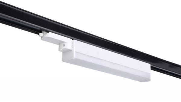 LED Schienenstrahler, 50W, weiß Lieferung inkl. Konverter und Schienenadapter
