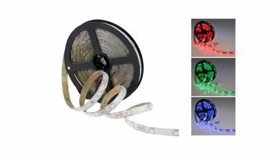 LED Streifen RGB 7,2W/m (36W), IP65, 24V