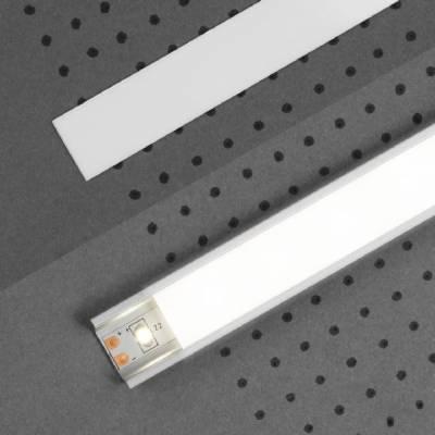 Abdeckung H | transparent / weiß