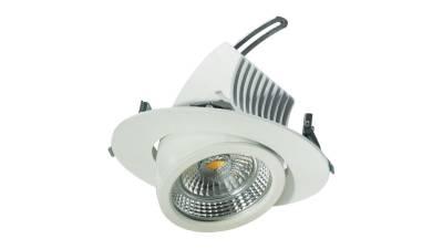 LED Downlights 44W, weiß, 180-190 mm Bohrloch
