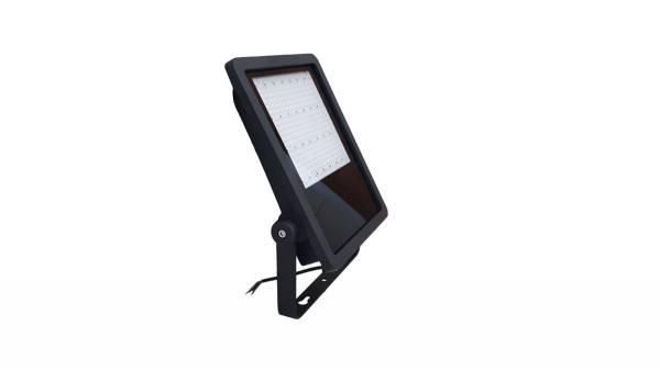 LED Fluter, 80W, schwarz/grau inkl. 50cm H05RN-F 3G0.75mm² Anschlussleitung & Montagebügel
