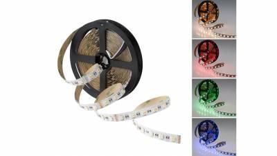 LED Streifen RGB-KW 19,2W/m, 96W, 24V