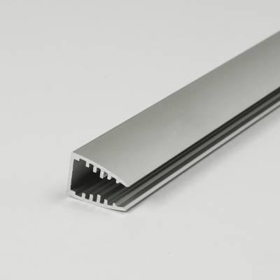 Aluminiumprofil für Glasdeko 12,5 x 18 mm | indirekte Beleuchtung