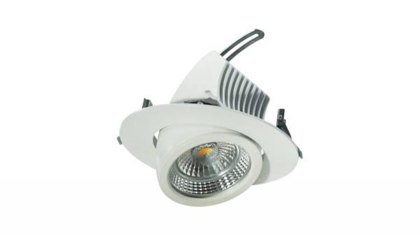 LED Downlights 27W, weiß, 150-160 mm Bohrloch