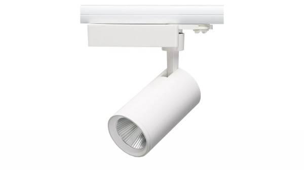 LED Schienenstrahler, 36W, weiß Lieferung inkl. Philips Konverter & Schienenadapter