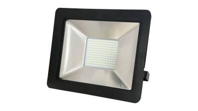 LED Fluter, 80W, schwarz inkl. H05RN-F 3G0.75mm² Anschlussleitung & Montagebügel